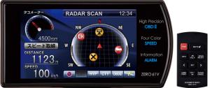zero61v,コムテック,レーダー探知機