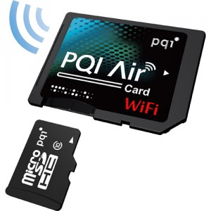 無線LAN付きSDカード